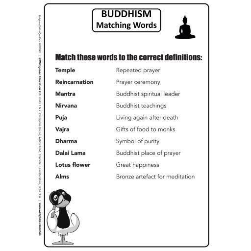 Buddhism Matching words .jpg