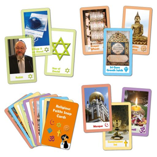 Religious Faiths Card Game