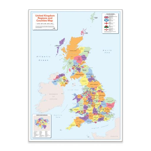Colour Blind Friendly UK Political Map