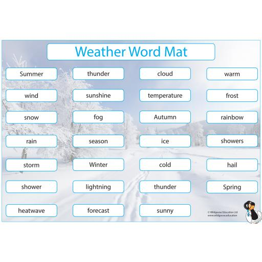 Weather_Word_Mat