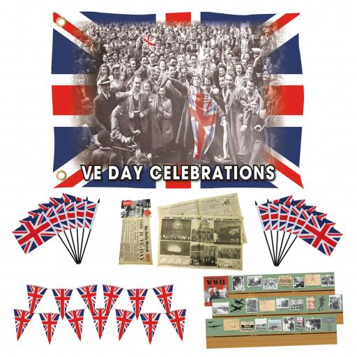 VE Day Anniversary Celebration Bundle
