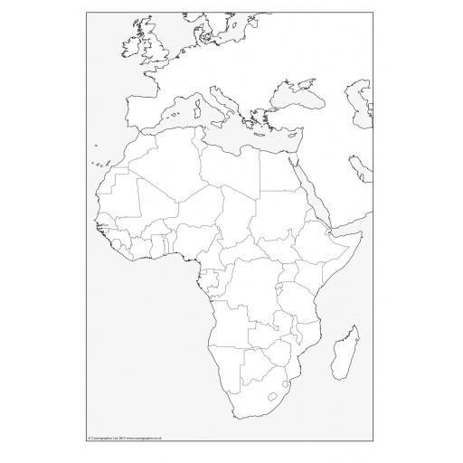 Cosmographics_Africa_Outline_Map