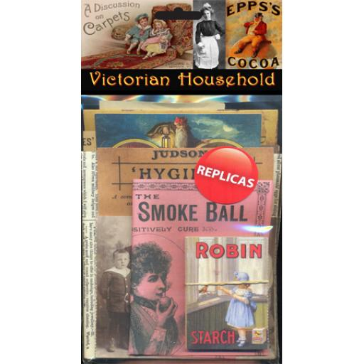 Victorian Household Memorabilia Pack