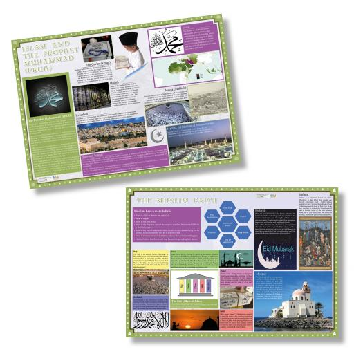 Muslim Faith Poster Set